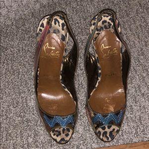 b3314084efb0 Christian Louboutin Shoes - Christian Louboutin Winter Trash 150 PVC Suede  36
